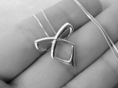 The Mortal Instruments: Rune necklace - Solid Sterling silver
