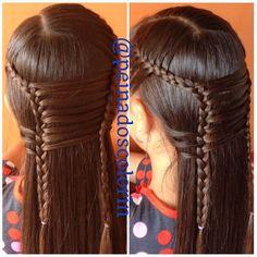 Más de los #bellas #trenzas en #colorin #braid #braids #braidsforgirls #girl #girls #girly #hair #hairstyles #treccia #tresses #hairdo