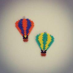 次は何色にしようかな。  #accessory #handmade #DIY #アクセサリー #ハンドメイド #beads #ビーズ #デリカビーズ #balloons #気球