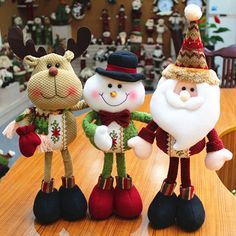 A piece 2015 Lovely Santa Claus Snowman Reindeer Christmas Decoration For Home Indoor Ornament Enfeites De Natal Decoration Christmas, Christmas Crafts For Gifts, Cheap Christmas, Xmas Decorations, Christmas Tree Ornaments, Reindeer Christmas, Kids Christmas, Merry Christmas, Christmas Patchwork