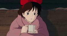 Find images and videos about anime, studio ghibli and ghibli on We Heart It - the app to get lost in what you love. Kiki Delivery, Kiki's Delivery Service, Studio Ghibli Art, Studio Ghibli Movies, Hayao Miyazaki, Kiki The Witch, Japanese Cartoon, Howls Moving Castle, Animation