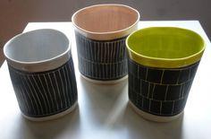 New porcelain tumblers