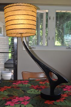 Vintage Majestic Lamp Mid Century Retro. - this is made of wood but reminds me of car part  - no longer available on Ebay