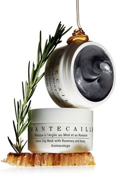 Chantecaille Detox Clay Mask with Rosemary and Honey. A very good cleansing and detox mask for combo skin Best Cleanse, Beauty Photography, Product Photography, Cosmetic Photography, Cosmetic Packaging, Clay Masks, Facial Care, Natural Cosmetics, Beauty Essentials