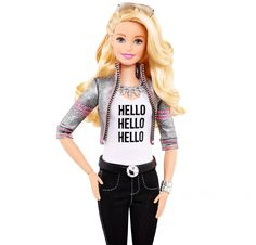 Mattel and ToyTalk has developed a Wi-Fi-connected Barbie that's able to have two-way conversations, play interactive games, tell stories and joke around. Hello Barbie is expected to hit the market later this year and retail for $74.99. Children are able to interact with the doll through a microphone and speaker located on Barbie's trendy necklace. Hello Barbie also comes equipped with a hold-to-talk button on her belt buckle to make sure she's responding only to the child's commands.