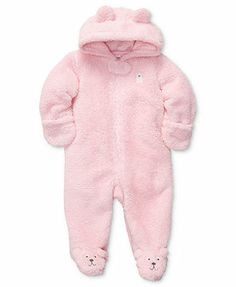 Carter's Baby Outerwear, Baby Girls Hooded Pram