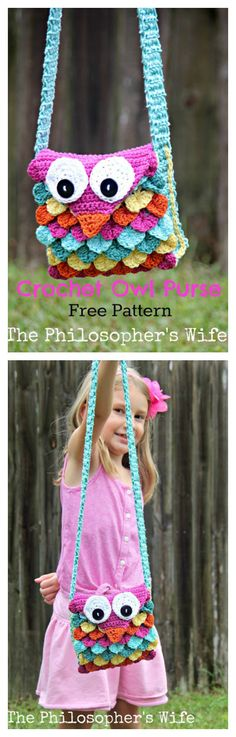 Crocodile Owl Stitch Purse Free Crochet Pattern Is Perfect Beginner