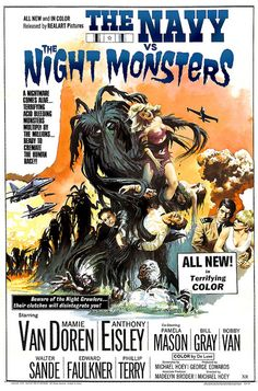 The Navy vs. The Night Monsters, 1966