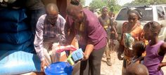 'BUCKET BRIGADE' CAMPAIGN TO HELP BREAK EBOLA INFECTION CYCLE IN SIERRA LEONE ~ An initiative with a local radio partner in the West African nation of Sierra Leone will provide life-sustaining food and supplies to quarantined families living in remote areas affected by the deadly Ebola virus. #ebola #ebolavirus #ebolacrisis