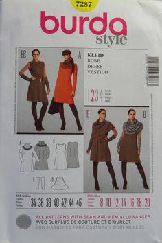 Burda 7287 Misses' Dress