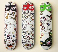 SUPREME x Murakami Skateboards (Set of 3) by Takashi Murakami