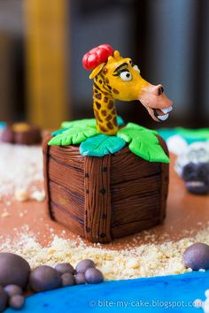 Madagascar Cake... too cute!