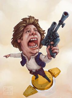 Han Solo - fan art