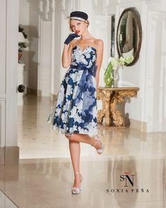 Vestidos de Fiesta, Vestidos de madrina, Vestidos para boda, Vestidos de Coctel 2016. Colección Primavera Verano Completa 2016. Sonia Peña - Ref. 1160120