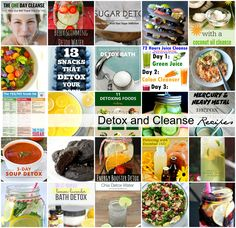 Sharing 25 Detox and Cleanse Recipes to give you a kick start to a healthier New Year.
