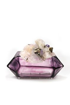 Crytstal Rock Clutch Accessories Index : fall 2012 : Chanel