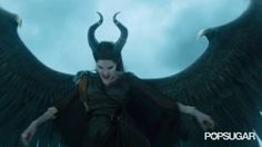 Pin for Later: 11 Chilling Maleficent GIFs That Prove Angelina Jolie Is the Ultimate Villain Literally Blowing Everyone Away