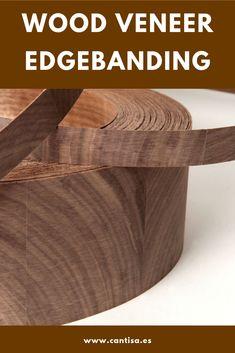 Wood veneer edgebanding in Cantisa
