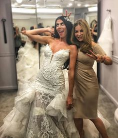 """""""Mi piace"""": 8,490, commenti: 64 - Pnina Tornai (@pninatornai) su Instagram: """"How you feel when the ultimate #PninaBride @ally628 's @sayyes_tlc episode airs this Saturday! For…"""""""