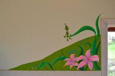 Therese Walland | mural children flowers Espira Tjøsvoll Bhg.