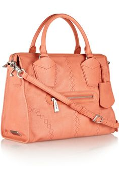 Botkier Jackson textured-leather shoulder bag - 50% Off Now at THE OUTNET