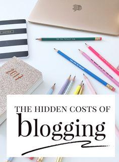 the hidden costs of blogging