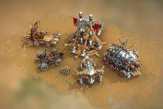 Medieval War Machines Models Set) by Beatheart Creative Studio on 3d Design, Game Design, Graphic Design, Flyer Design, Game Textures, 3d Assets, 3d Artist, Creative Studio, Creative Food
