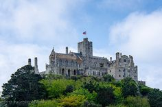 The Castle - St. Michael's Mount, Cornwall, England, UK