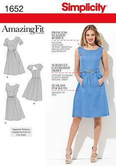 Simplicity Creative Group - Misses' & Miss Petite Amazing Fit Dresses