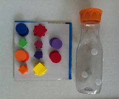 Fun and easy DIY intervention that can improve fine motor skills and visual perception by identify shapes, colors, and objects by using foam and velcro.