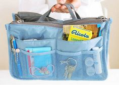New Women Travel Insert Handbag Organiser Purse Large Liner Organizer Tidy Bag   eBay