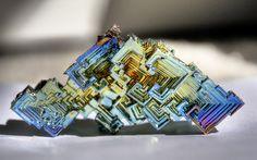 Cristal de bismuto (elemento químico)