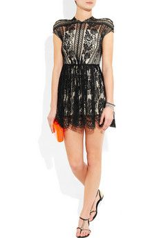 Lover- Wiccan Lace Mini Dress