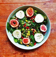Sakara Life Green Superfood Tabbouleh with Fresh Figs