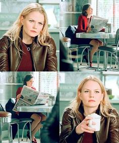 The way emma looks at regina tho... #SwanQueen