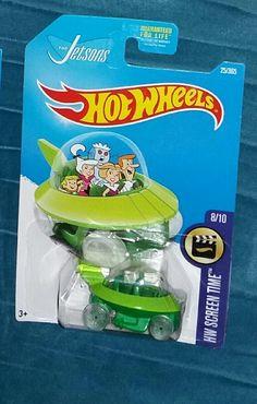 Hot Wheels, 2014 The Jetsons Capsule Car Custom Hot Wheels, Hot Wheels Cars, Retro Toys, Vintage Toys, Carros Hot Wheels, Hot Wheels Storage, Toys Land, The Jetsons, Matchbox Cars