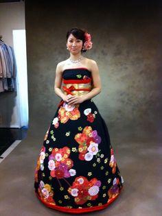 Découvrez les robes mariées extraordinaires de ces Japonaises qui se servent de leurs kimonos traditionnels, épatant