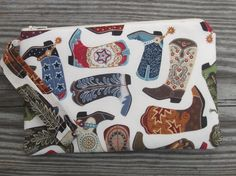 Handmade Cowboy Boots Wristlet Cowgirl #HEPTEAM