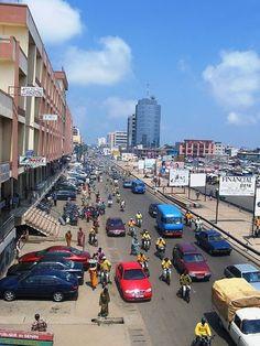 Cotonou, Benin, West Africa