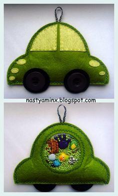 My handmade world...: Искалочка  «Машинка» #I Spy Bag #искалочка #длядетей #игра #изфетра  #мелкаямоторика #фетр #felt #ispybag