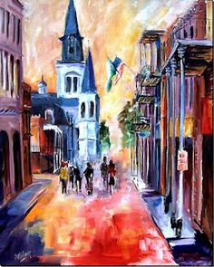 On a Walking Tour of the French Quarter by Diane Millsap