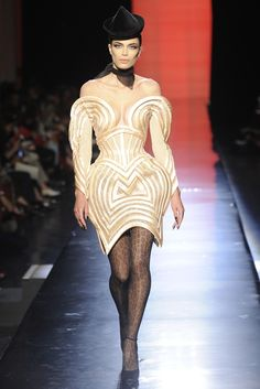 High Fashion Inspiration. In love with Jean Paul Gaultier's Fall 2013.