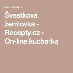 Švestková žemlovka - Recepty.cz - On-line kuchařka