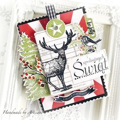 Hi there dear paper peeps, How about a step-by-step tutorial for a Christmas album made entirely with - JOY TO THE WORLD - COLLECTION For a tutorial click below: Thank you so much for all kind words and comments and have a crafty day! Christmas Paper Crafts, Christmas Hanukkah, Halloween Christmas, Christmas Tag, Simple Christmas, Christmas Albums, My First Christmas, Twelve Days Of Christmas, Happy December