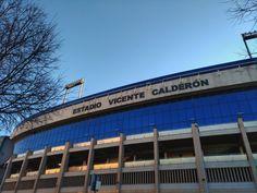 #triptomadrid: Estadio Vicente Calderón, Madrid 🇪🇸