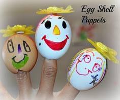egg puppets
