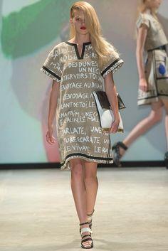 JC de Castelbajac Spring 2014 Ready-to-Wear Fashion Show