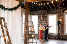Live ceremony music is never a mistake.  Photo by @mary_margaret_smith.