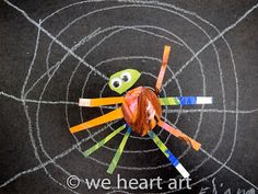 we heart art: very BUSY spiders!
