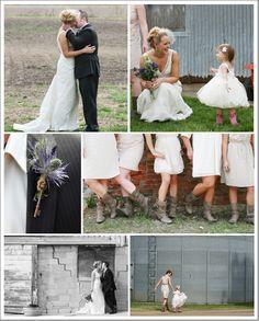 Wisconsin Farm Country Wedding